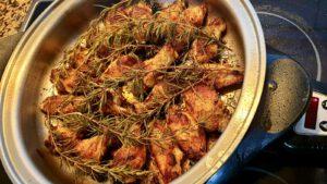 Alitas de pollo aromáticas