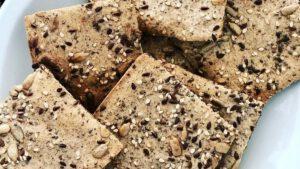 Crackers de Trigo Sarraceno - Vegano