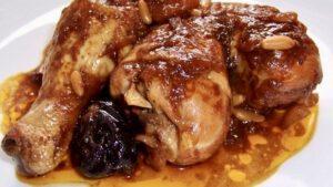 Pollo Guisado en Salsa de Ciruelas Saladmaster