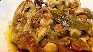 Pollo en Salsa Toledana