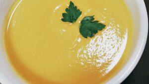 Crema de Calabacín, Champiñones y Calabaza - Vegano