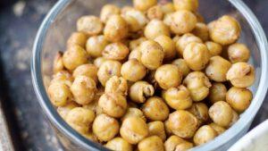 Snacks de Garbanzos especiados - Vegano