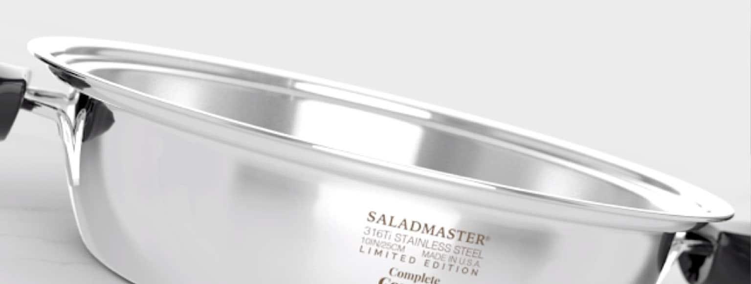 Cocinar con Saladmaster te supone un ahorro económico
