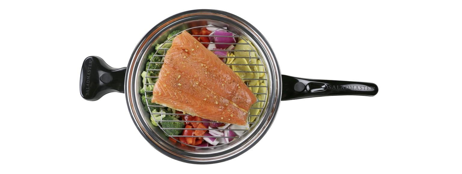 Saladmaster conserva los nutrientes cuando cocinas tus alimentos