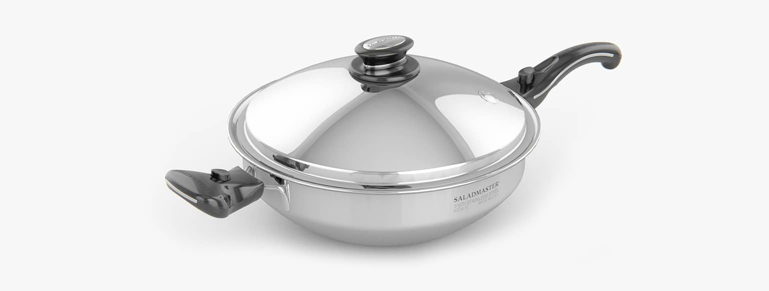 Elipsu Ollas y Woks Saladmaster titanio 5 litros
