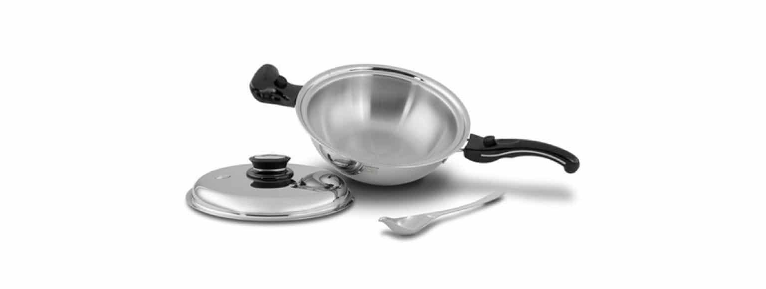 Saladmaster fabrica ollas con la más alta calidad utilizando titanio