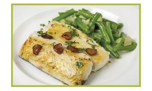 Pescado cocinado a la plancha con Saladmaster
