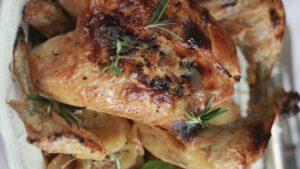 Pollo marinado a las Finas Hierbas