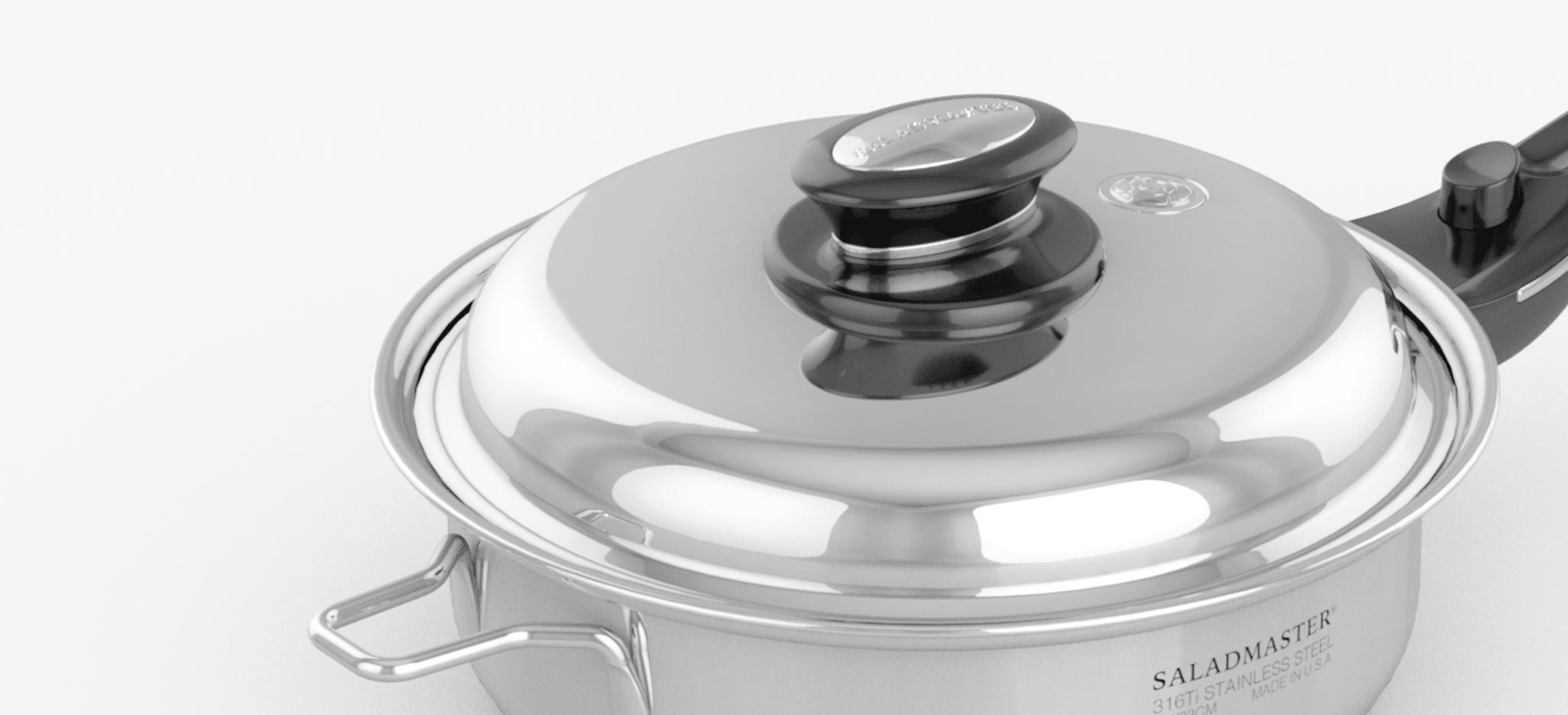 Saladmaster España - Olla saladmaster titanio - La mejor elección para cocinar de manera saludable